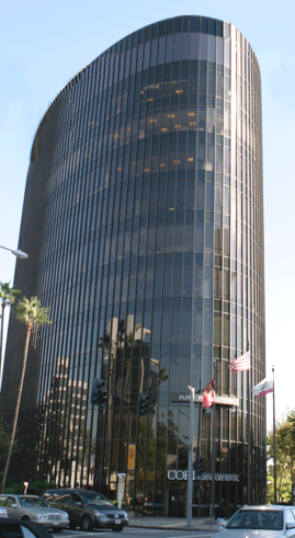 The Jules Berlin Agency Building in Beverly Hills, CA